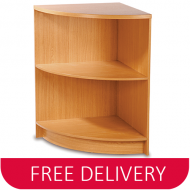 Premium Open Curved Corner Infill Shop Counter