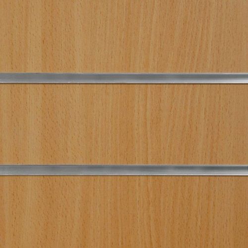50mm Slot - Beech Slatwall Panel