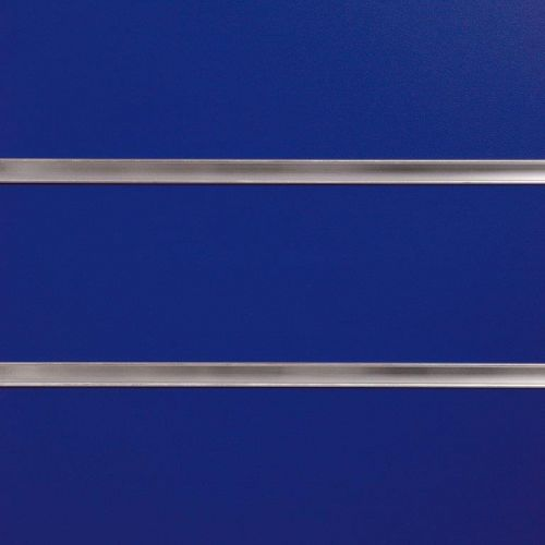 75mm Slot -Blue Slatwall Panels with Inserts