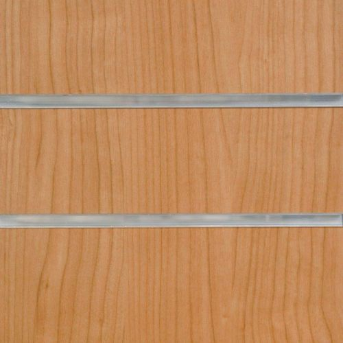 50mm Slot-Cherry Slatwall Panels with Inserts