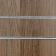 75mm Slot Light Walnut Slatwall Panel