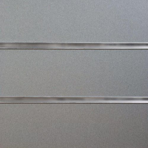 50mm Slot - Silver Slatwall Panel