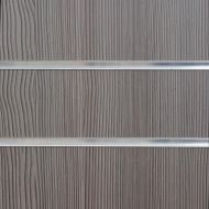 4x4 Pino Grey Slatwall Panels