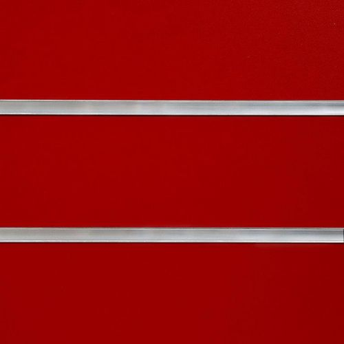 50mm Slot-Red Slatwall Panel