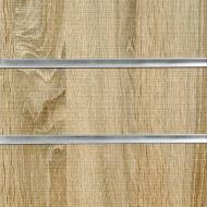50mm Slot-Rustic Oak Slatwall Panel