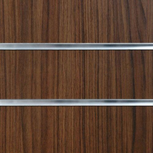 50mm Slot-Walnut Slatwall Panel