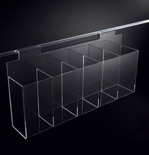 5 Compartment Display Case 600mm