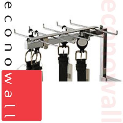 Tie / Belt Add-On Display For Display Rails - Box of 8