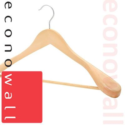 Wooded Shaped Jacket / Suit Hangers