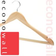 Wooden Shaped Suit Hangers