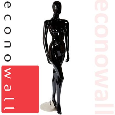Lola - Gloss Black Female Shop Display Mannequin