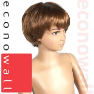 Short Brown Hair Wig - For Child Mannequin
