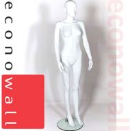 Female Shop Display Mannequin With Abstract Style Head - 2