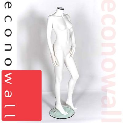 Headless Female Shop Display Mannequin - Style 1