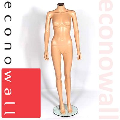 Headless Female Shop Display Mannequin - Style 2