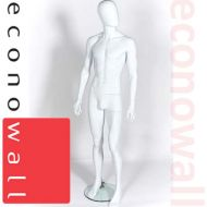 White Male Mannequin With Egg Style Head - 3