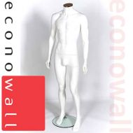 White Headless Male Shop Display Mannequin - 2