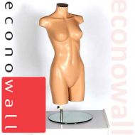Female Torso Mannequin - No Head No Arms Fleshtone