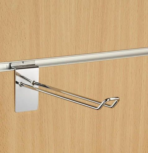 250mm (10 Inch)  Double Hook For Slatwall (Box of 100)