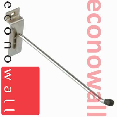 200mm (8 Inch) Single Hook For Slatwall