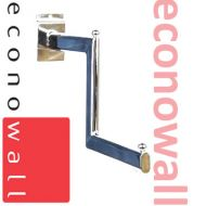 Stepped Clothing Display Arm For Slatwall