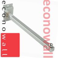 300mm (12 Inch) Straight Arm For Slatwall