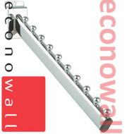 11 Ball Sloping Arm For Slatwall