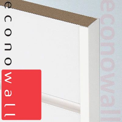 Slatwall PVC Edge Capping Trim