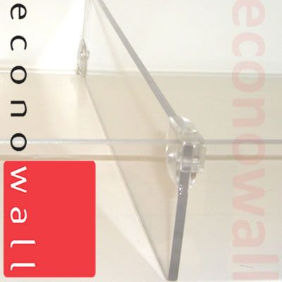 Acrylic Divider 75mm Exposed